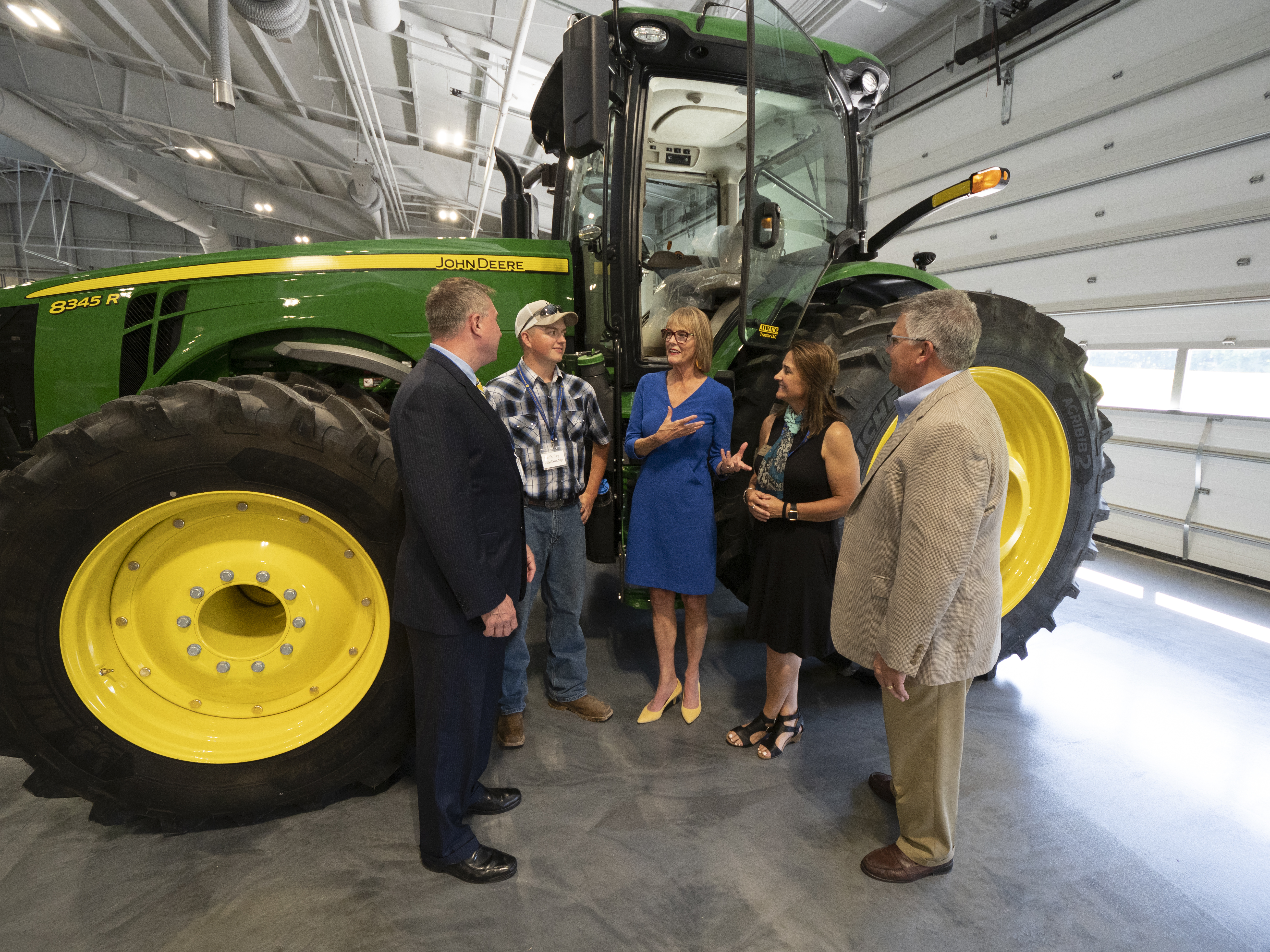 Vincennes University celebrates agricultural partnerships with Center Opening